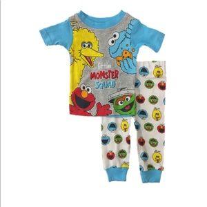 SALE 4/$30 NWT Sesame Street Pajamas 2 piece set